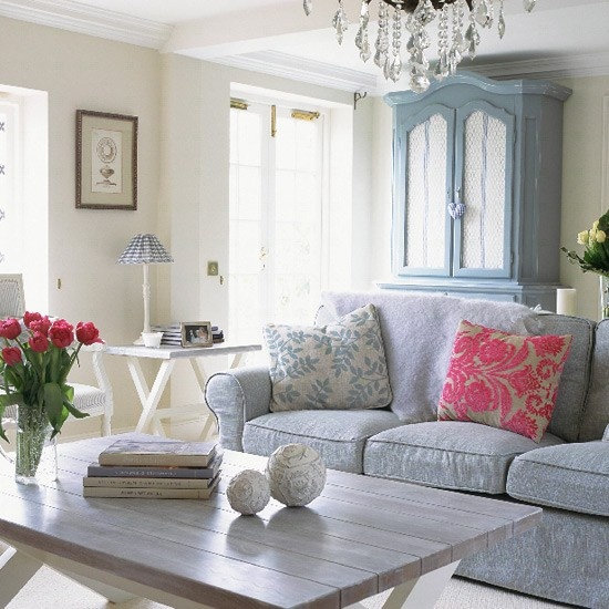 French-style living room