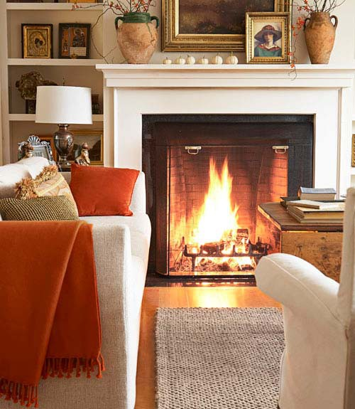 Decorate With Fall Colours