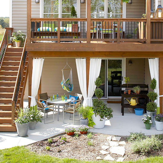 Integrate a Patio with the Landscape