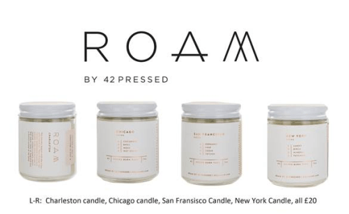 Rewined & Roam Candles
