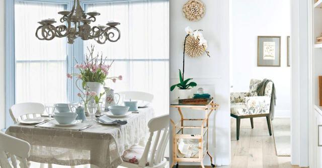 Scandinavian & Vintage style Dining Area