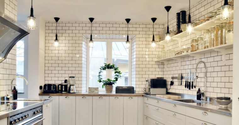 Light up your space – lighting in your kitchen