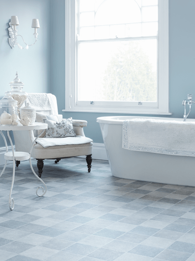 Make it Modern with Bathroom Vinyl Flooring