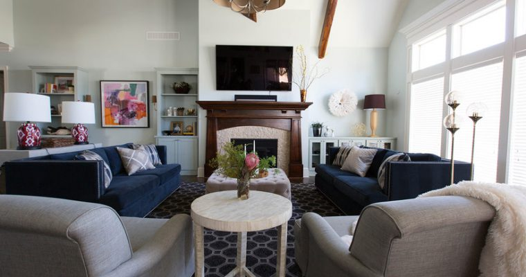 Make a large room cosy