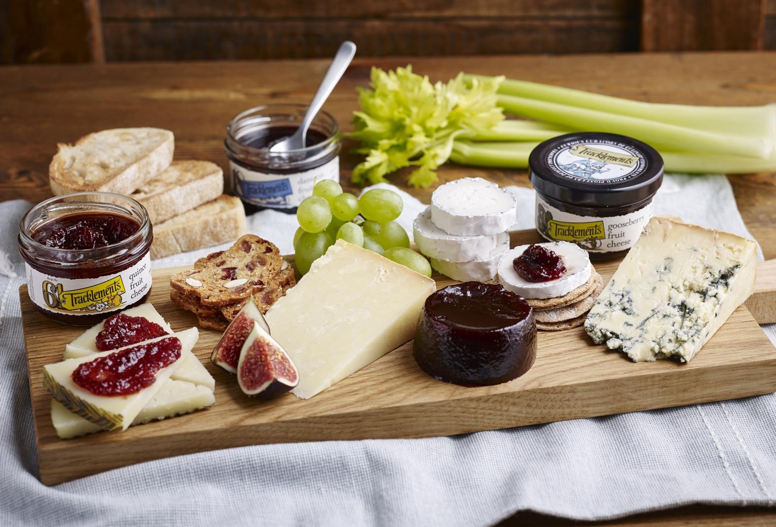 Fruit Cheese Board