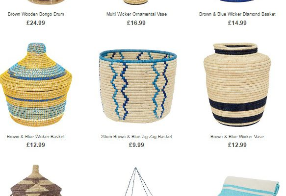Tribal Treasures at Homesense & TK Maxx