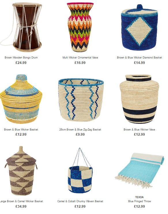 Tribal Treasures at Homesense & TK Maxx