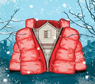 Top Ten Tips: Keeping homes warm and bills down by BSW Building Services