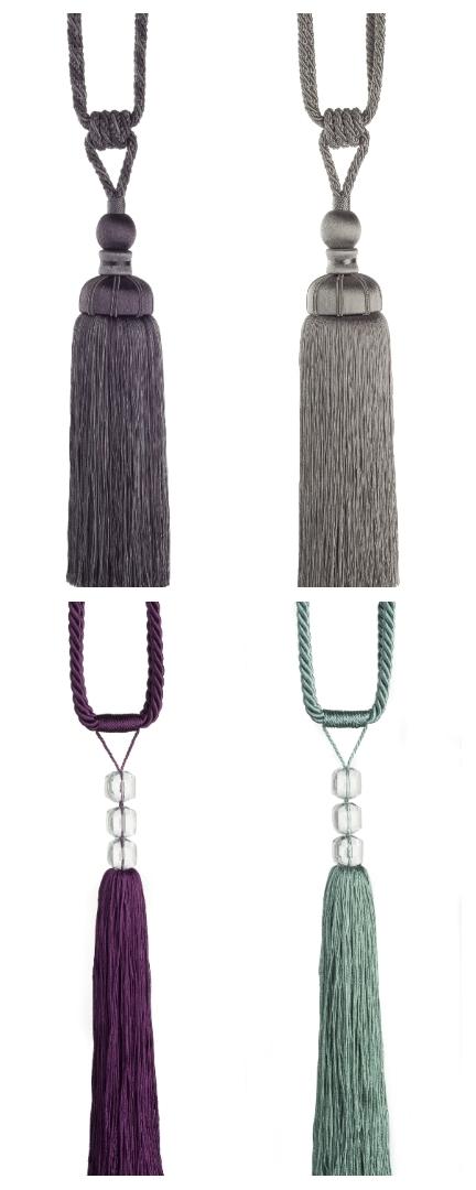 Swish Tie-backs