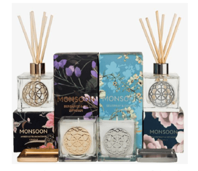 Monsoon Home Fragrance Collection