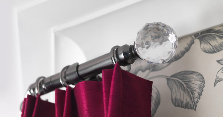 EIGHT WAYS TO MAKE FITTING A CURTAIN POLE A BREEZE