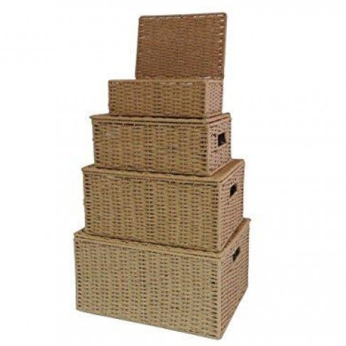 Storage Basket Hamper Box