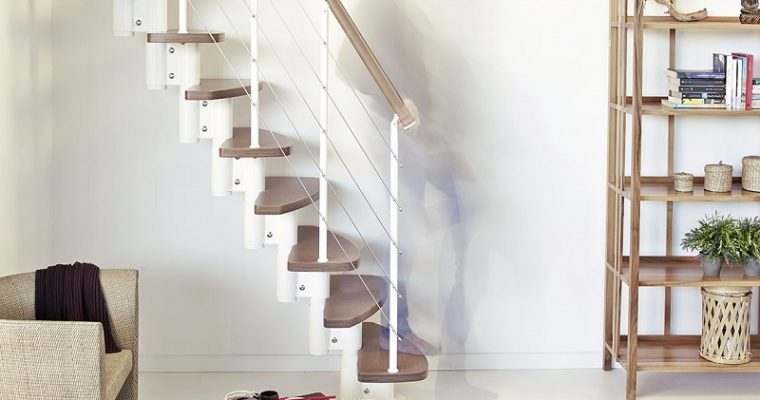 Cool Space Saving Staircases