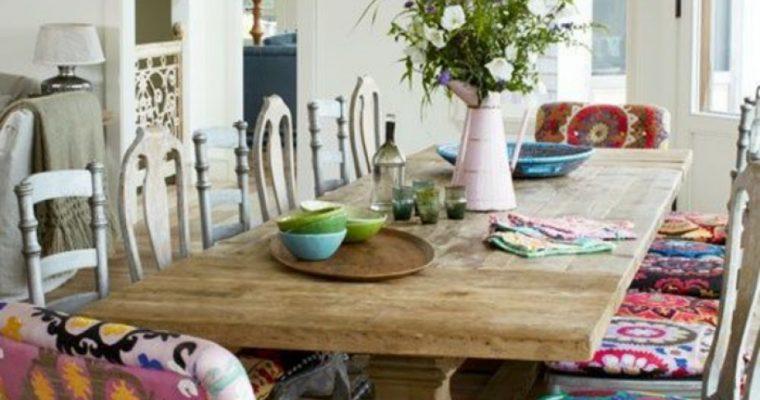 Globe-trotting living room styles