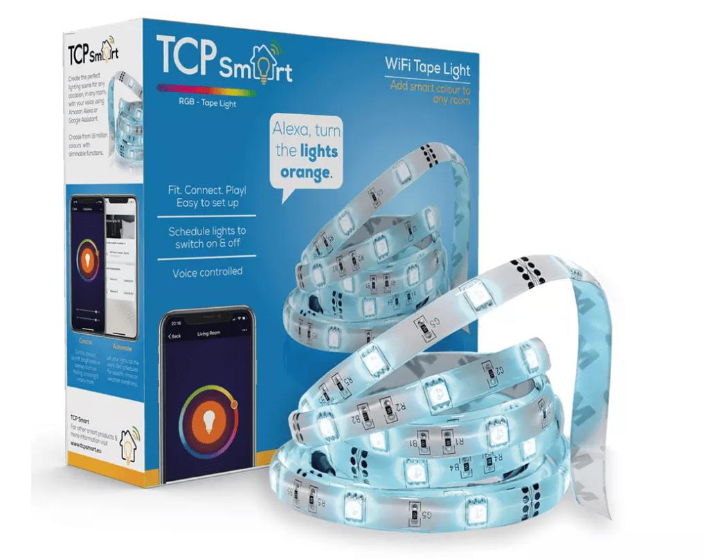TCP LED Smart Wi-Fi Tape Light