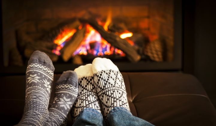 The history of heating a home