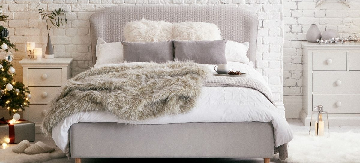 Creating a cosy winter bedroom