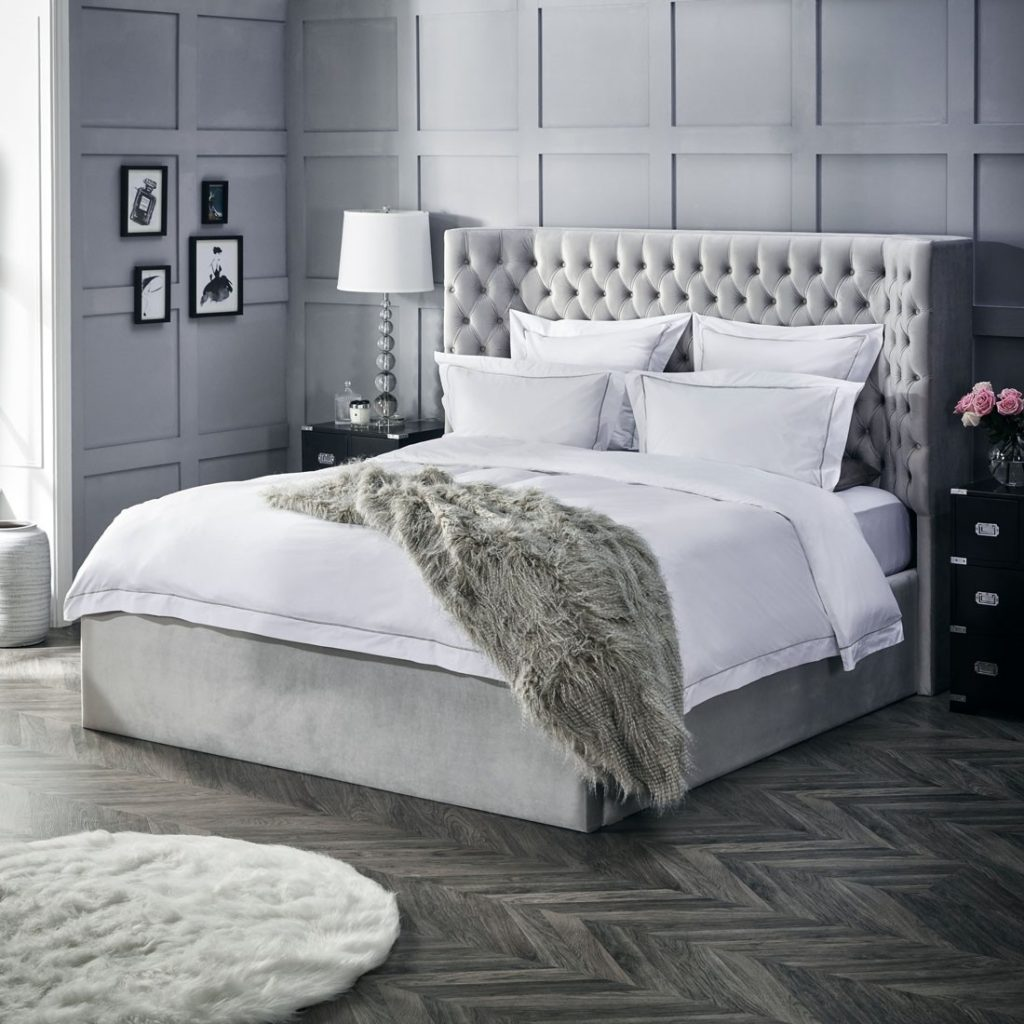 Mila Upholstered Bed