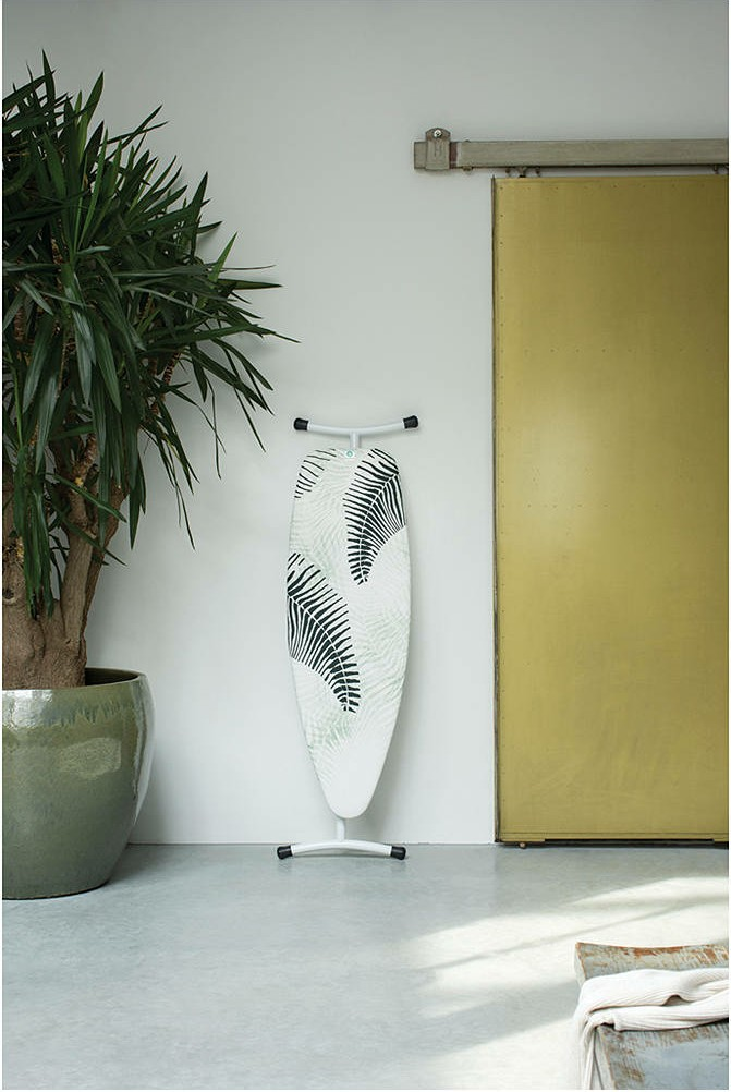 Make ironing a pleasure with Brabantia's new, eye-catching ironing boards and covers
