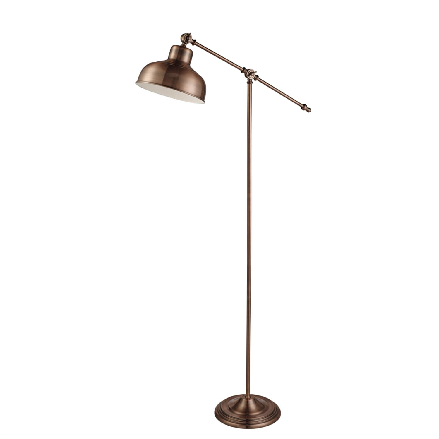 Macbeth Copper Adjustable Floor Lamp