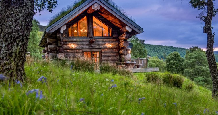 Are Log Cabins Eco-Friendly or High Maintenance?