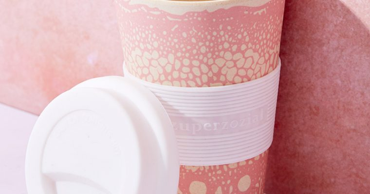 Pink Bamboo Cruising Travel Mug