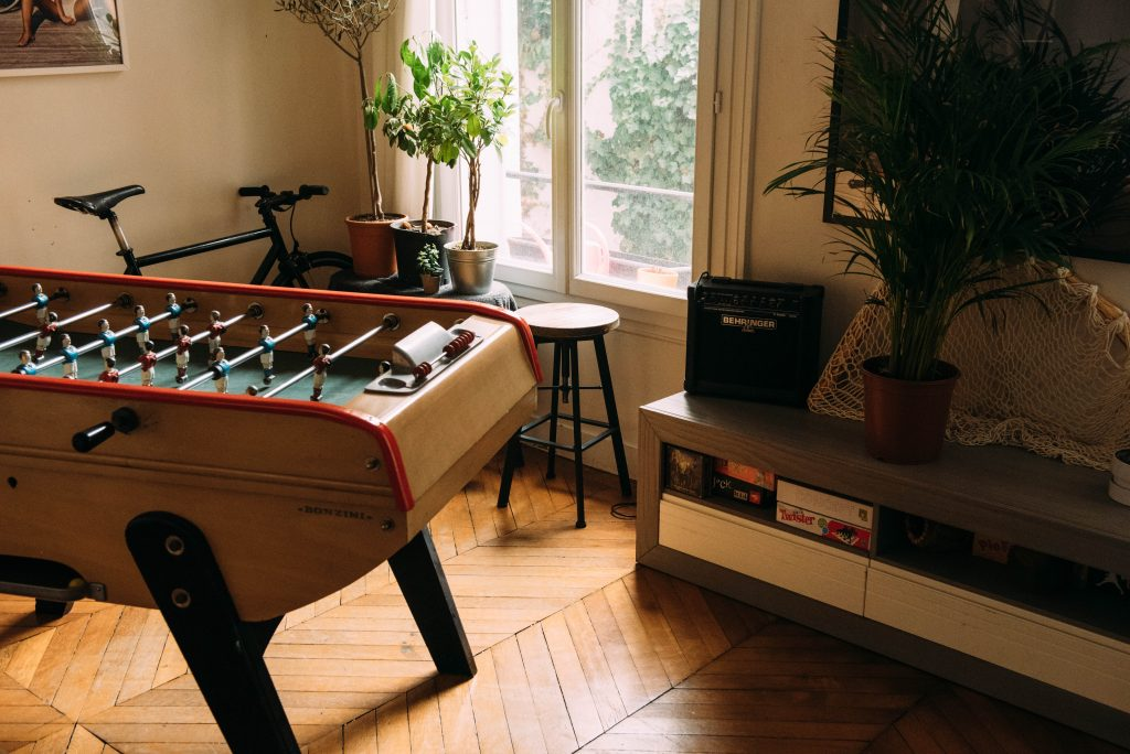 Ingredients for the perfect games room