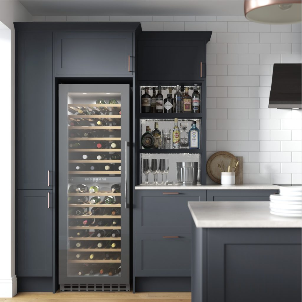 OPEN SHELVING – CHOOSE WHAT TO DISPLAY AND WHAT TO HIDE AWAY