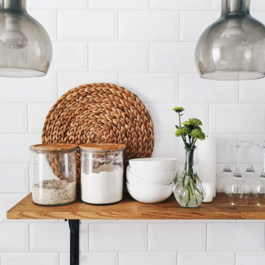 Kitchen trends on a budget