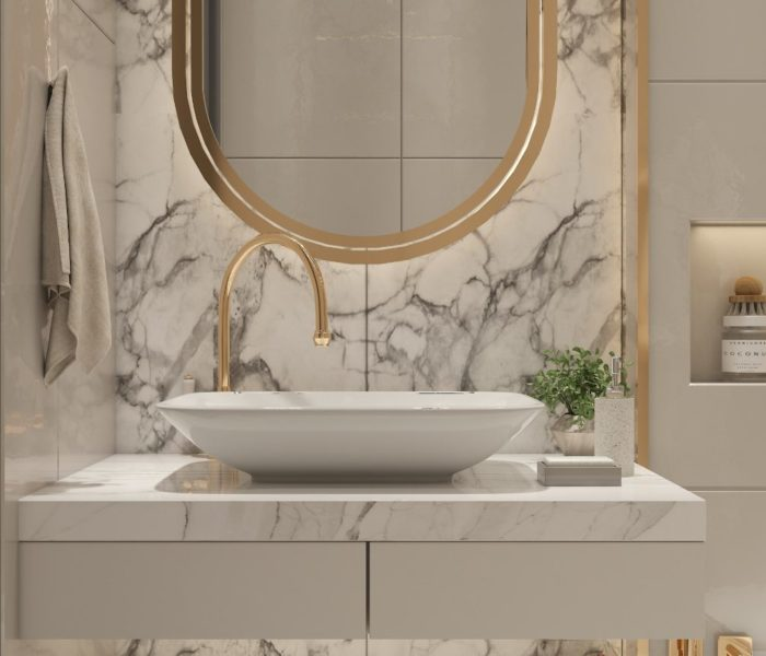 How to design a stylish but functional bathroom