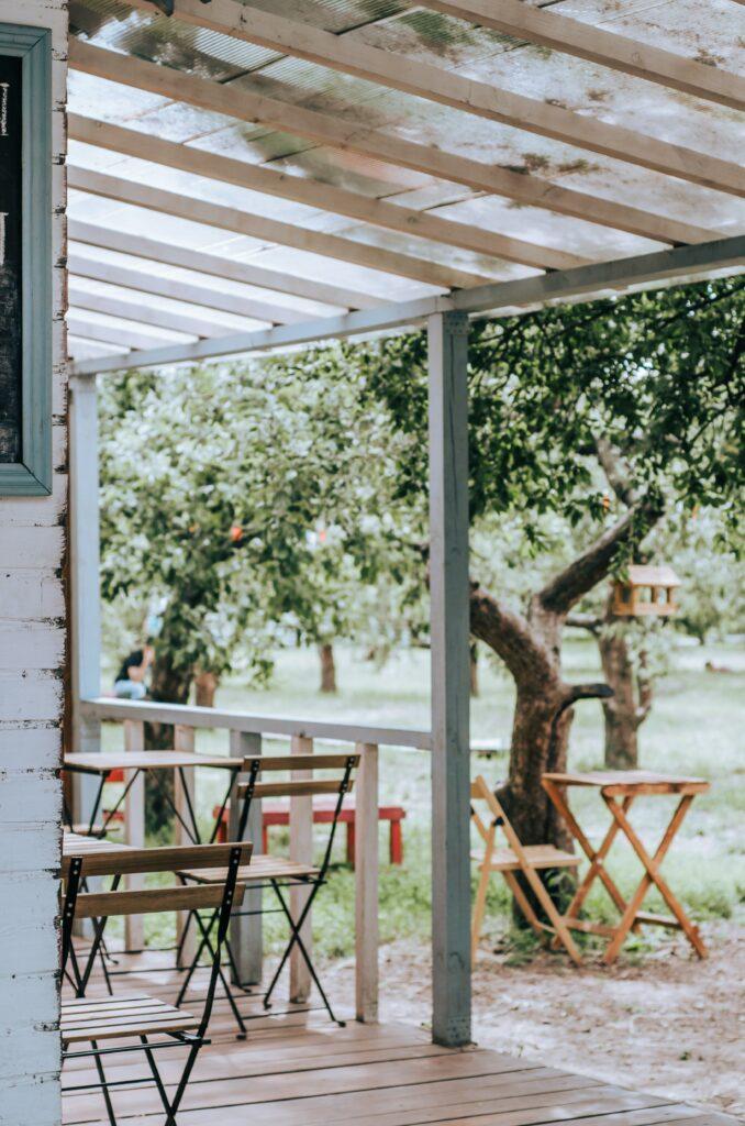 Why add a veranda to your garden