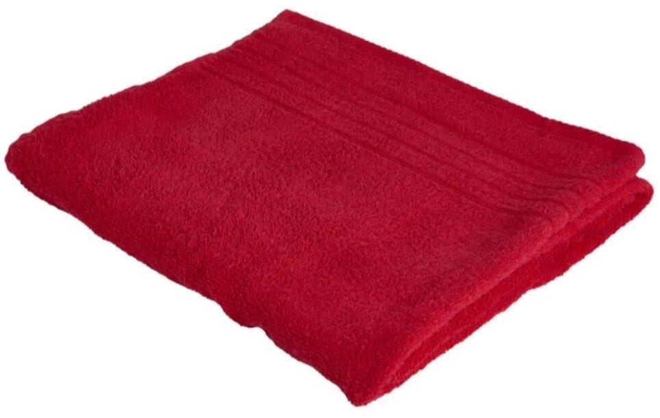 Wilko Chilli Red Bath Towel