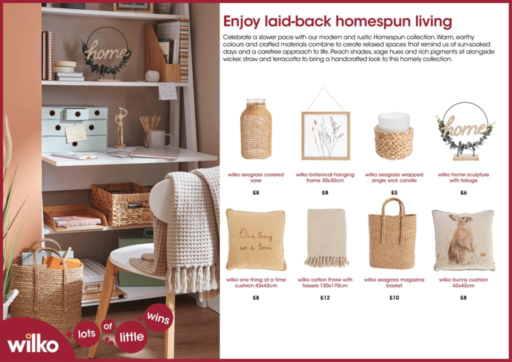 Brighten up your home with Wilko's latest homeware trends