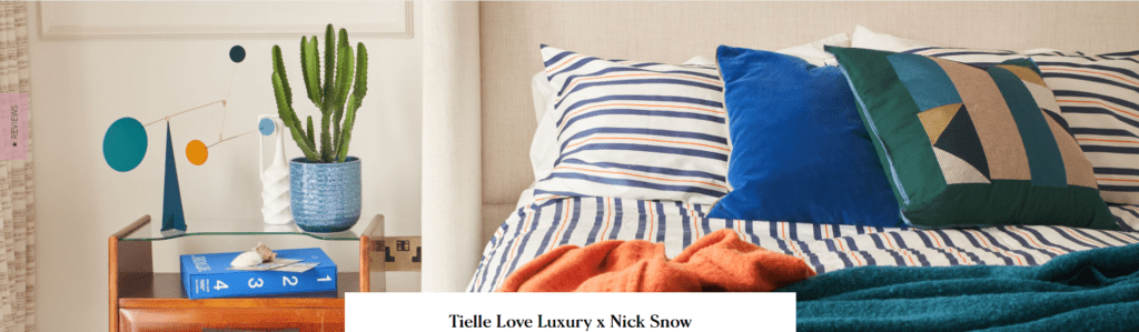 Tielle Love Luxury Launches California-Inspired Bed Linen Colour Collection