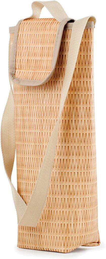 Kikkerland CU220 Cool Bag, Plastic, Brown