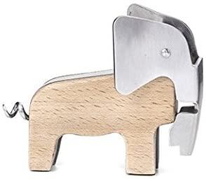 Kikkerland Elephant Beech Wood Corkscrew