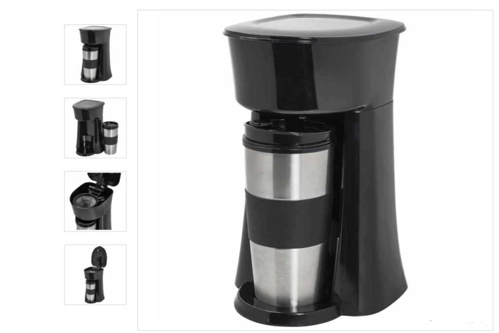 On the Go Coffee Maker