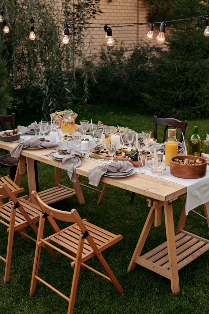 How to create the perfect alfresco dining space