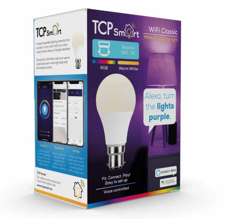 TCP Smart Wi-Fi Classic Indoor LED Bulb