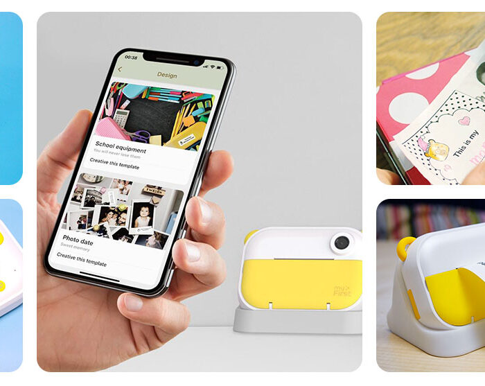 All-in-one kids camera and 10-second instant print Wi-Fi portable label printer creating waves around the world!