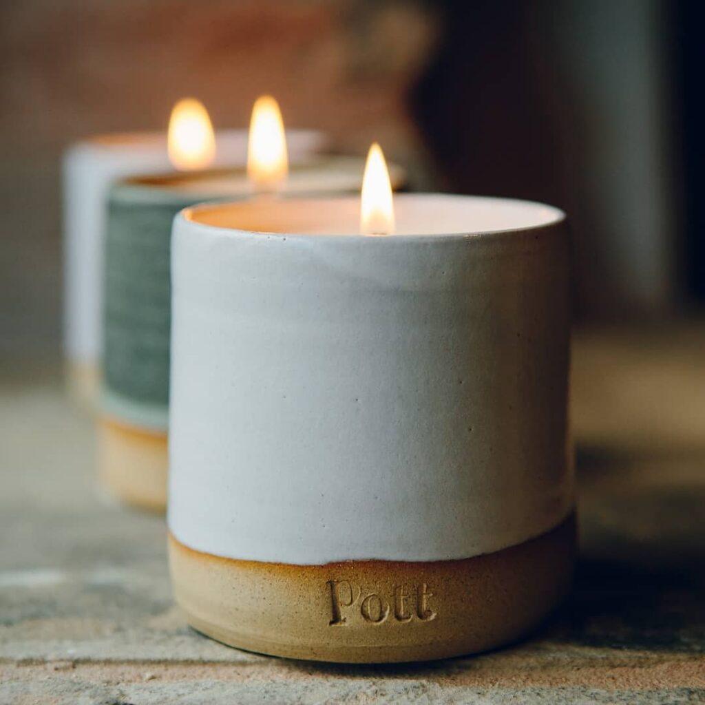 Pott Candles